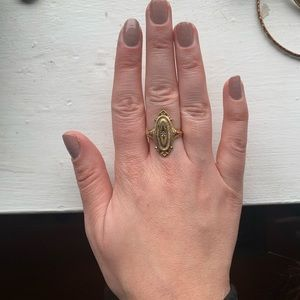 Vintage Avon ring with rhinestone